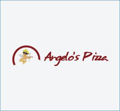 logo angelos pizza ossona